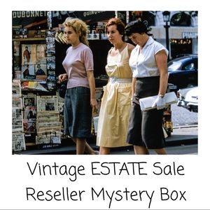 Vintage ESTATE Sale Mystery Box Reseller Box